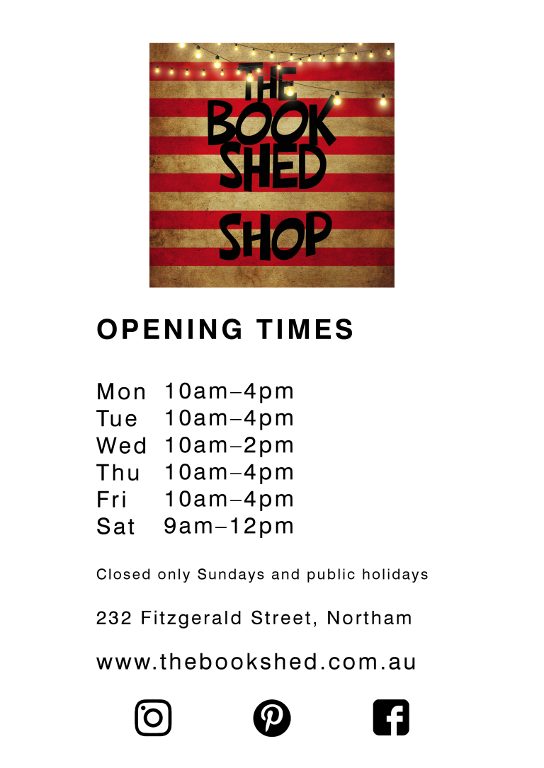 the book shed open times JULY 2019
